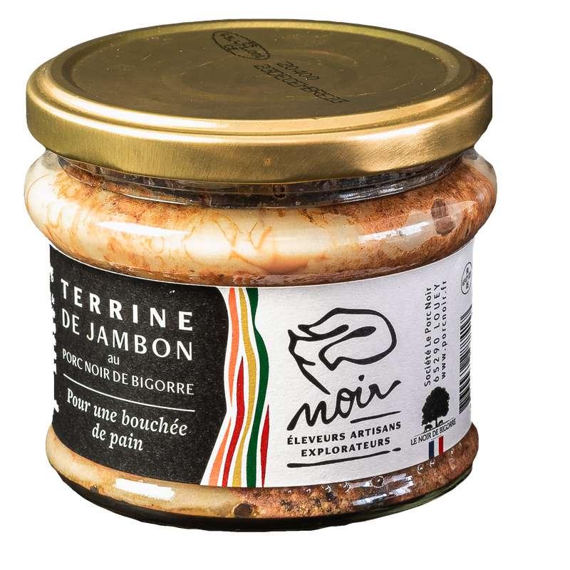 Terrine au jambon Noir de Bigorre, Padouen (180 g)