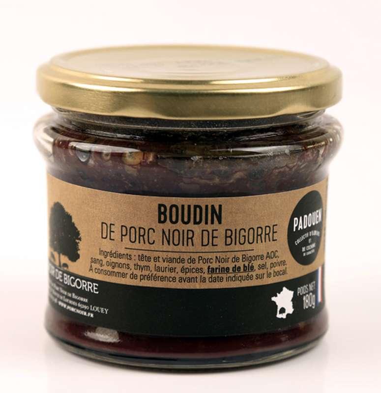 Terrine de boudin Noir de Bigorre, Padouen (180 g)