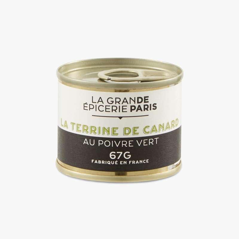 Terrine de canard au poivre vert, La Grande Epicerie de Paris (67 g)