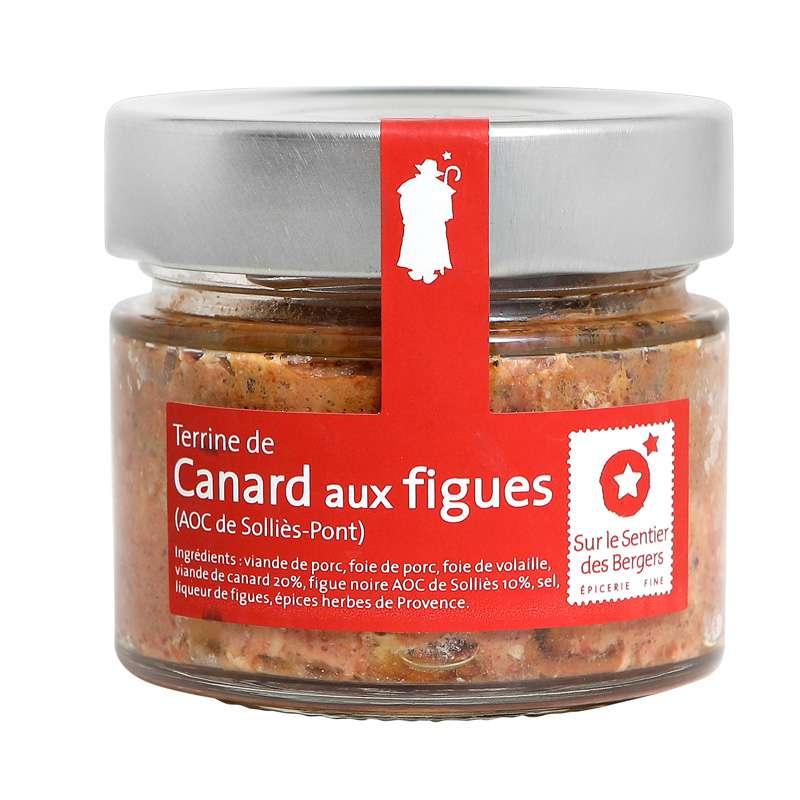 Terrine de canard aux figues, Sur le sentier des bergers (130 g)