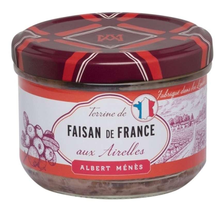Terrine de Faisan de France aux Airelles, Albert Ménès (180 g)