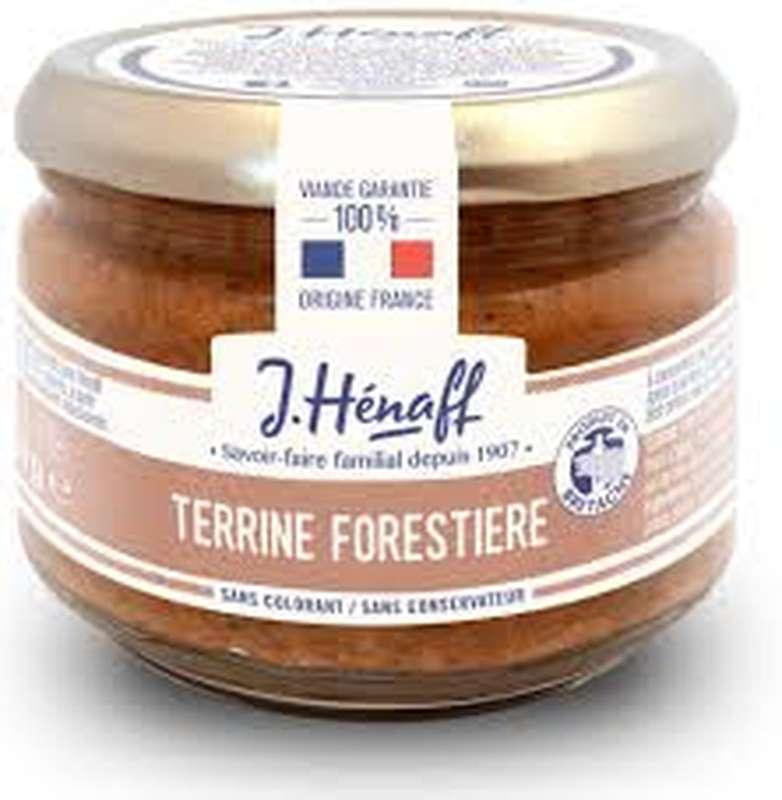 Terrine forestière, Hénaff (180 g)