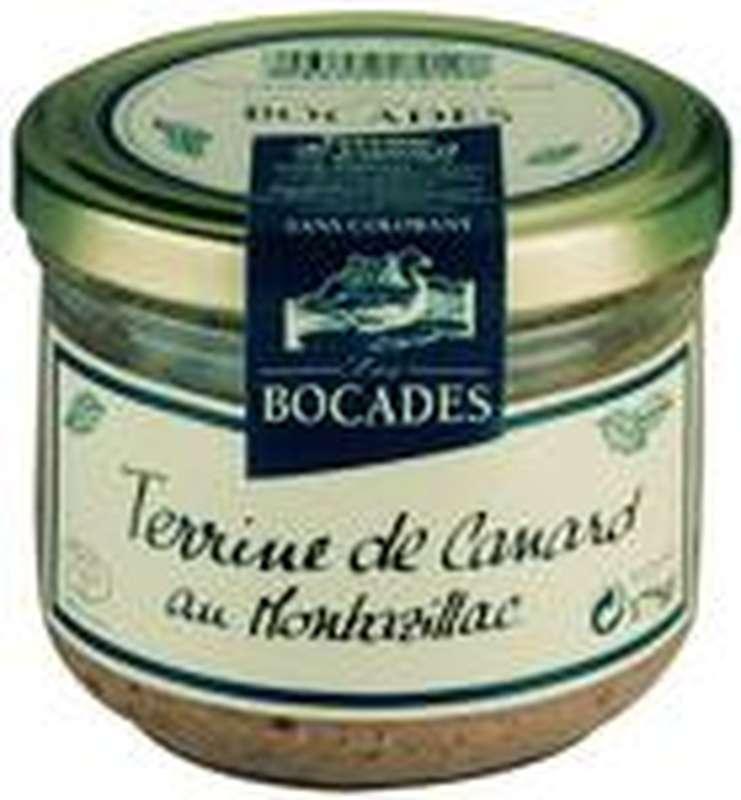 Terrine de canard au Montbazillac, Les Bocades (175 g)