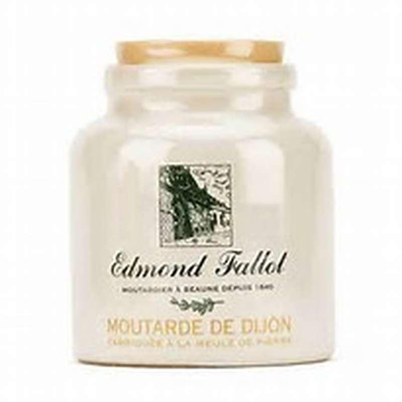 Moutarde de Dijon classique, pot en grès, Fallot (250 g)