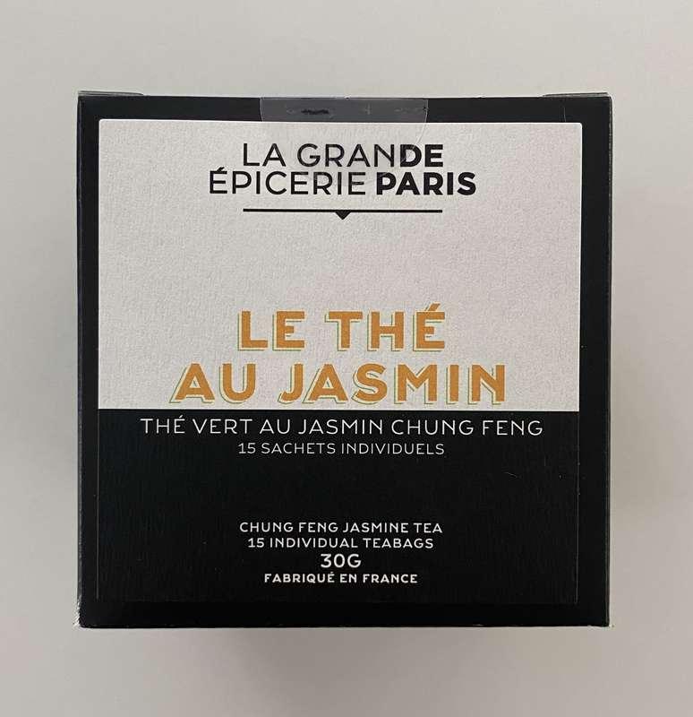 Thé au jasmin, thé vert Chung Feng, La Grande Epicerie de Paris (x 15)