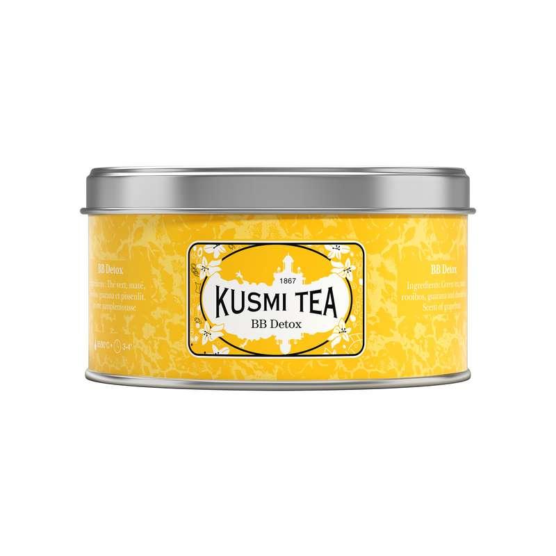 Thé BB Detox - boîte métal, Kusmi Tea (125 g)