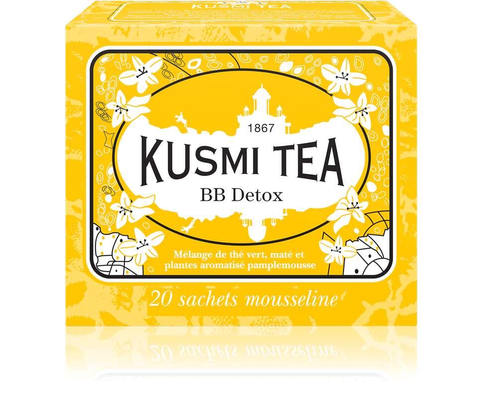 Thé BB Detox - étui sachets mousseline, Kusmi Tea (x 20, 44 g)