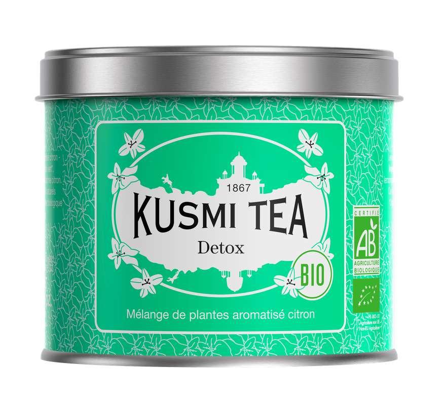 Thé Detox BIO - boîte métal, Kusmi Tea (125 g)