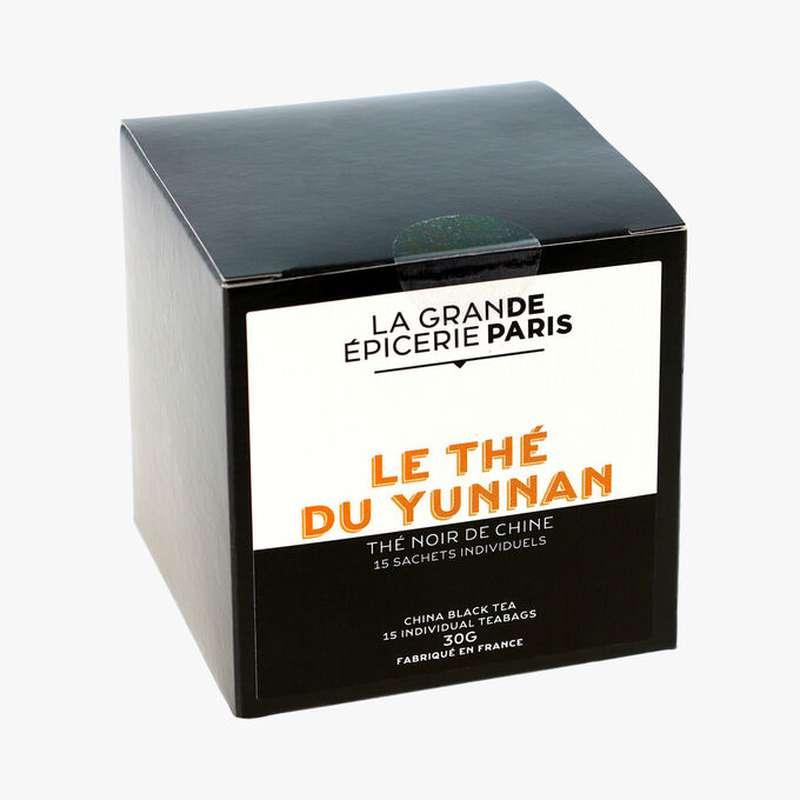 Thé noir du Yunnan, La Grande Epicerie de Paris (x 15)