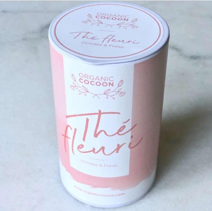 Thé Fleuri Orchidée & Fraise BIO, Organic Cocoon (80 g)