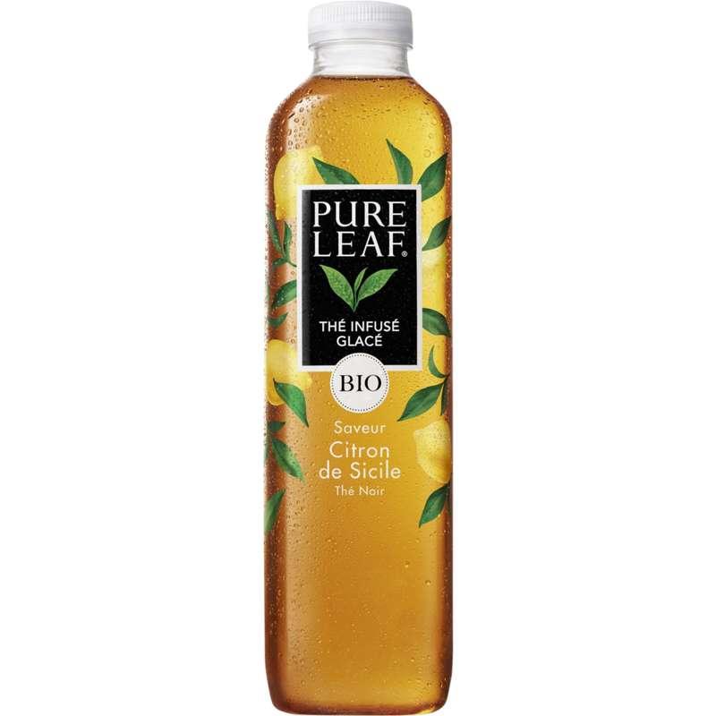 Thé glacé saveur citron de Sicile BIO, Pure Leaf (1 L)