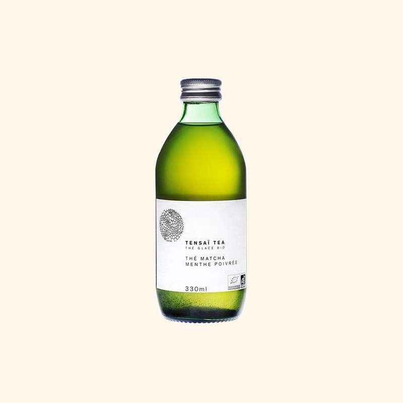 Thé Matcha et Menthe Poivré BIO, Tensaï Tea (33 cl)