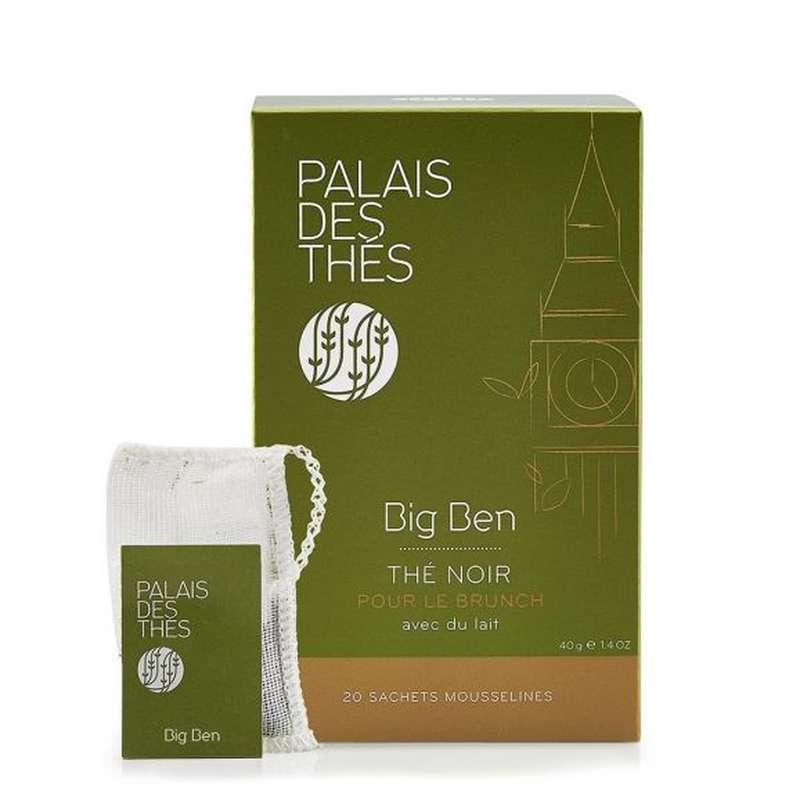 Thé noir Big Ben, Palais des Thés (x 20)