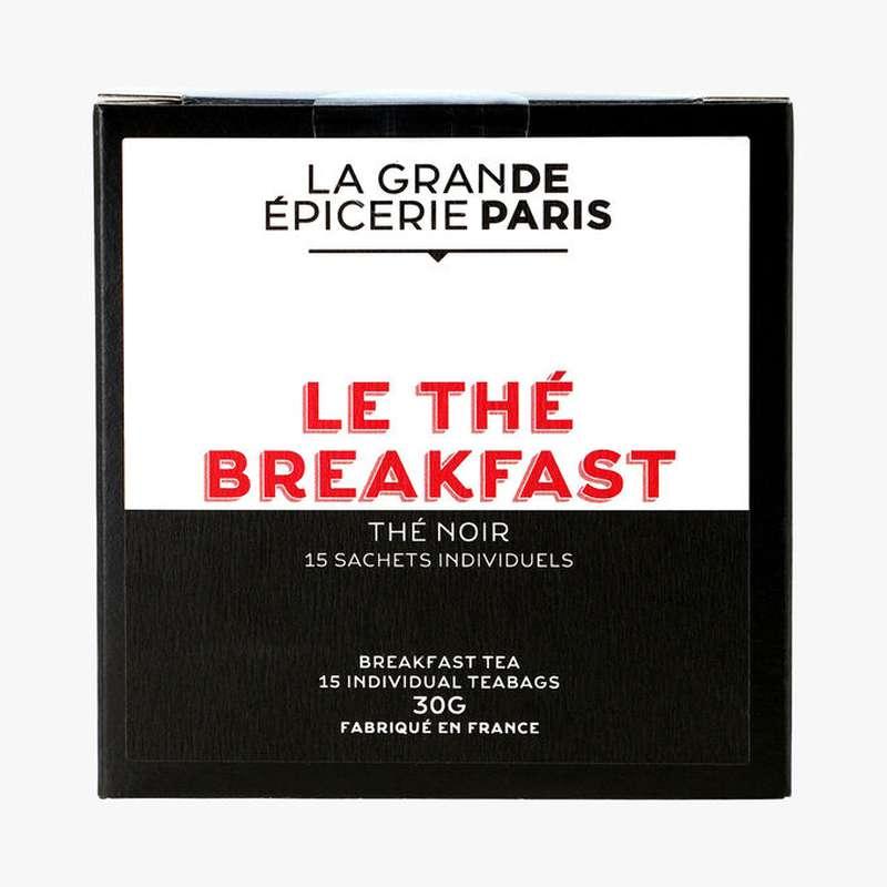 Thé noir Breakfast, La Grande Epicerie de Paris (x 15)