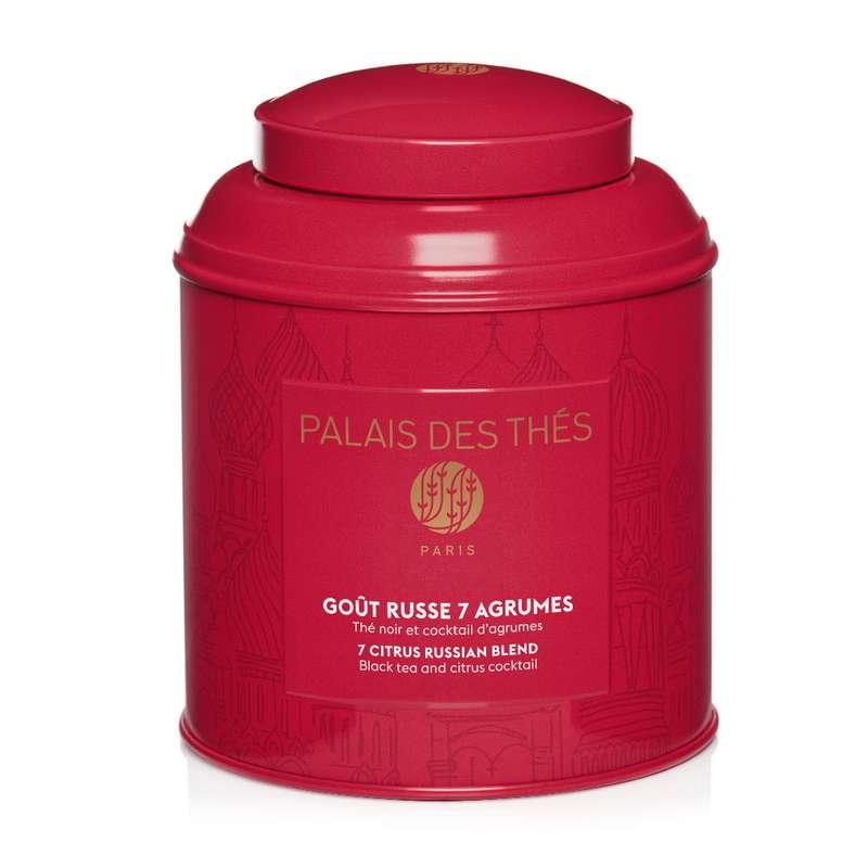 Thé noir russe 7 agrumes - boîte couleur, Palais des Thés (100 g)