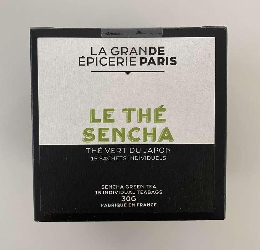 Thé Sencha, thé vert du Japon, La Grande Epicerie de Paris (x 15)