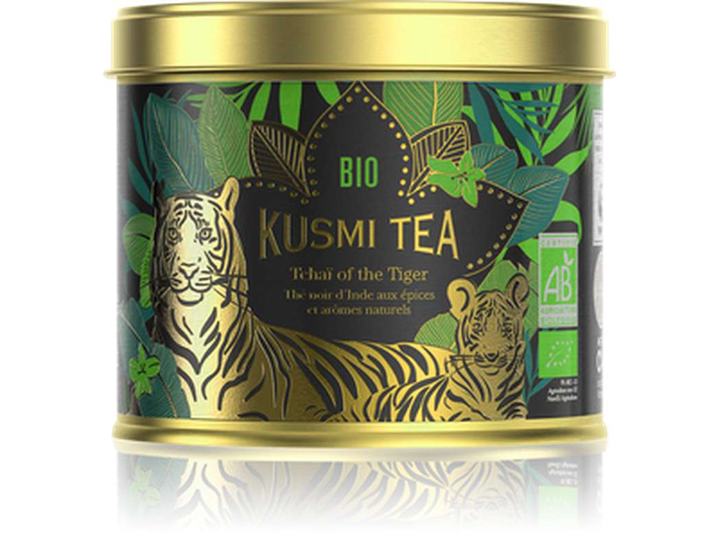 Thé Tchaï of the Tiger BIO - boîte métal, Kusmi Tea (100 g)
