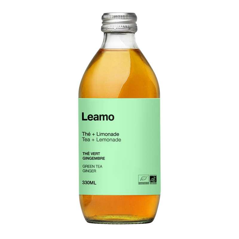 Thé Vert Gingembre BIO, Leamo (33 cl)