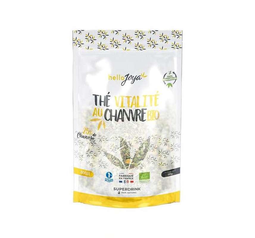 Thé vitalité au chanvre BIO, Hello Joya (50 g)
