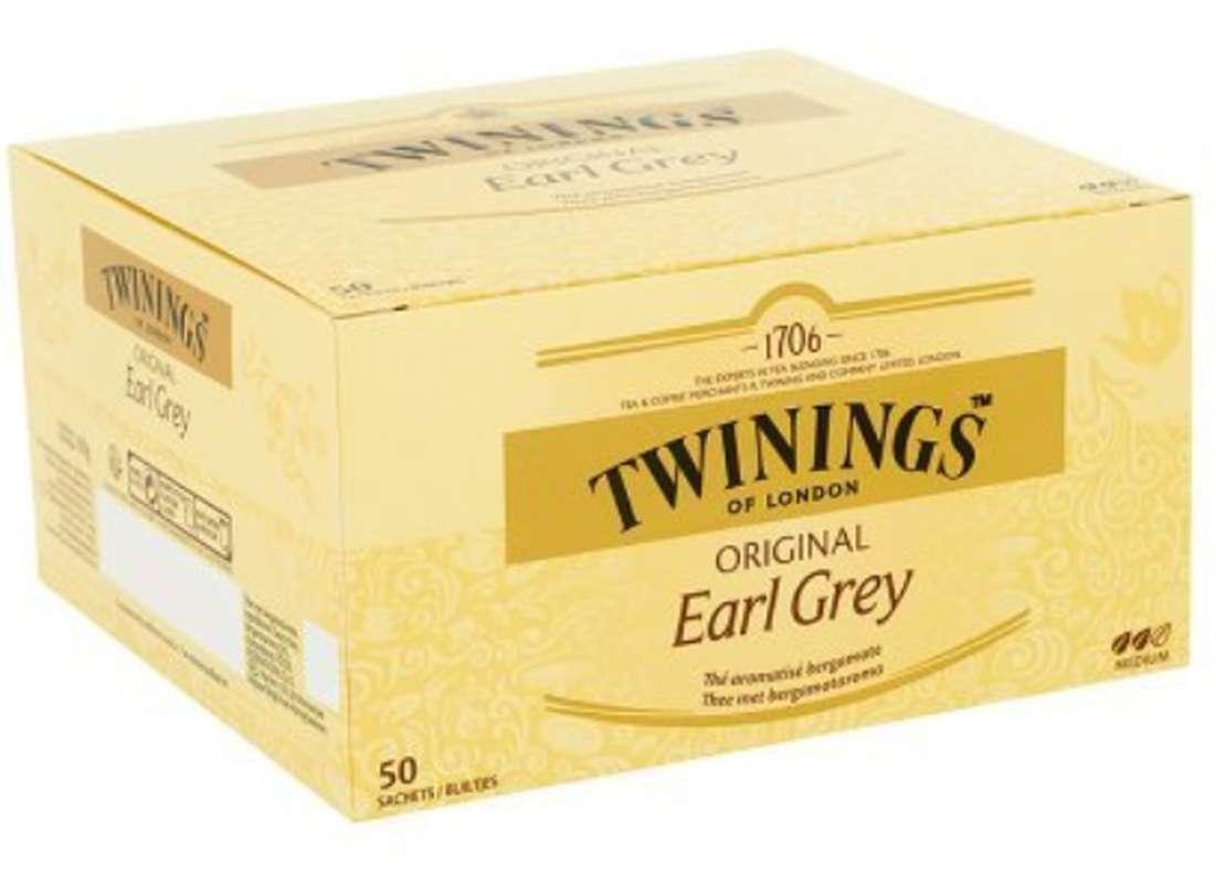 Thé Earl Grey, Twinings (50 sachets)