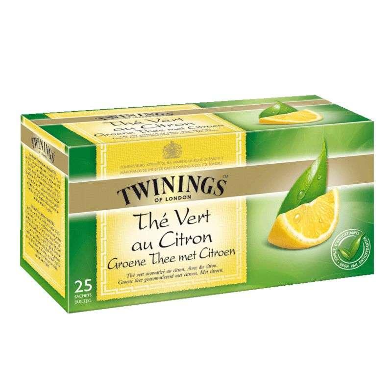 Thé vert citron, Twinings (25 sachets)