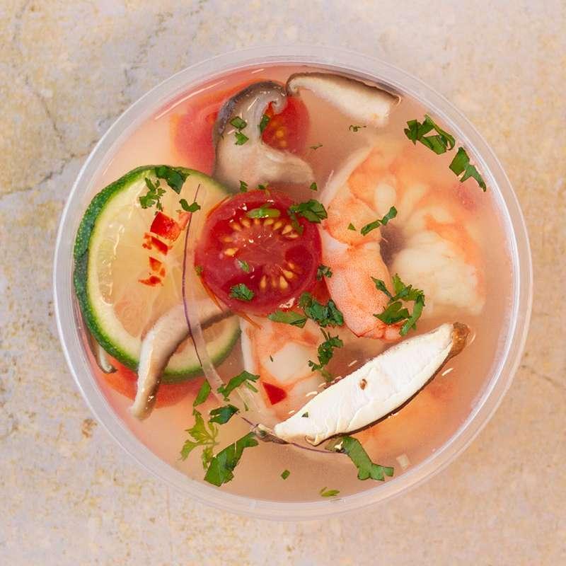 Thom yam kung, soupe de crevettes thaïlandaise (300 g)