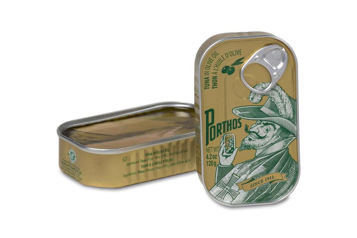 Thon à l'huile d'olive, Porthos (81 g)