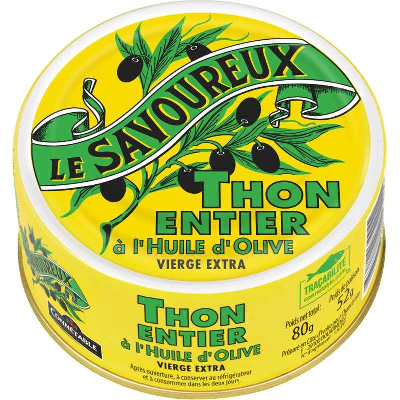 Thon albacore à l'huile d'olive, Le savoureux (80 g)