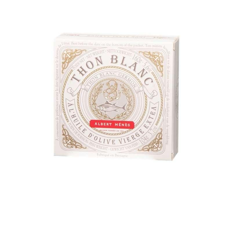 Thon blanc Germon à l'huile d'olive vierge extra, Albert Ménès (160 g)