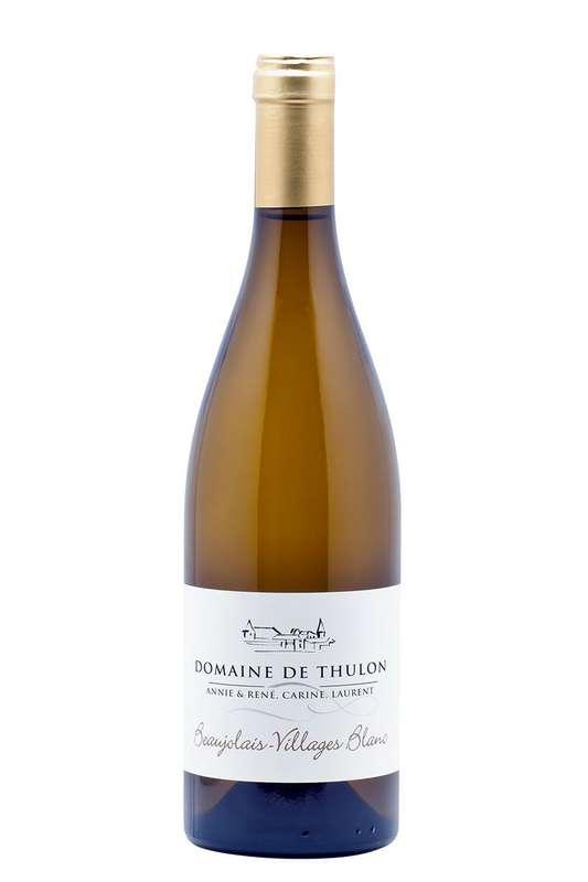 Thulon Blanc - 2019 - AOP Beaujolais Villages  Chardonnay Domaine de Thulon (75 cl)