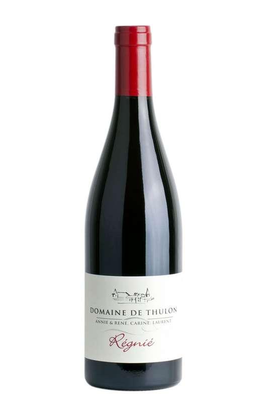 Thulon rouge - 2018 - AOP Régnié Gamay Domaine de Thulon (75 cl)