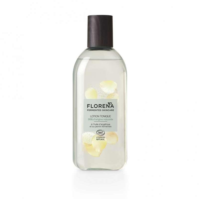 Lotion tonique à l'huile d'angélique et jasmin fermentés, Florena (200 ml)