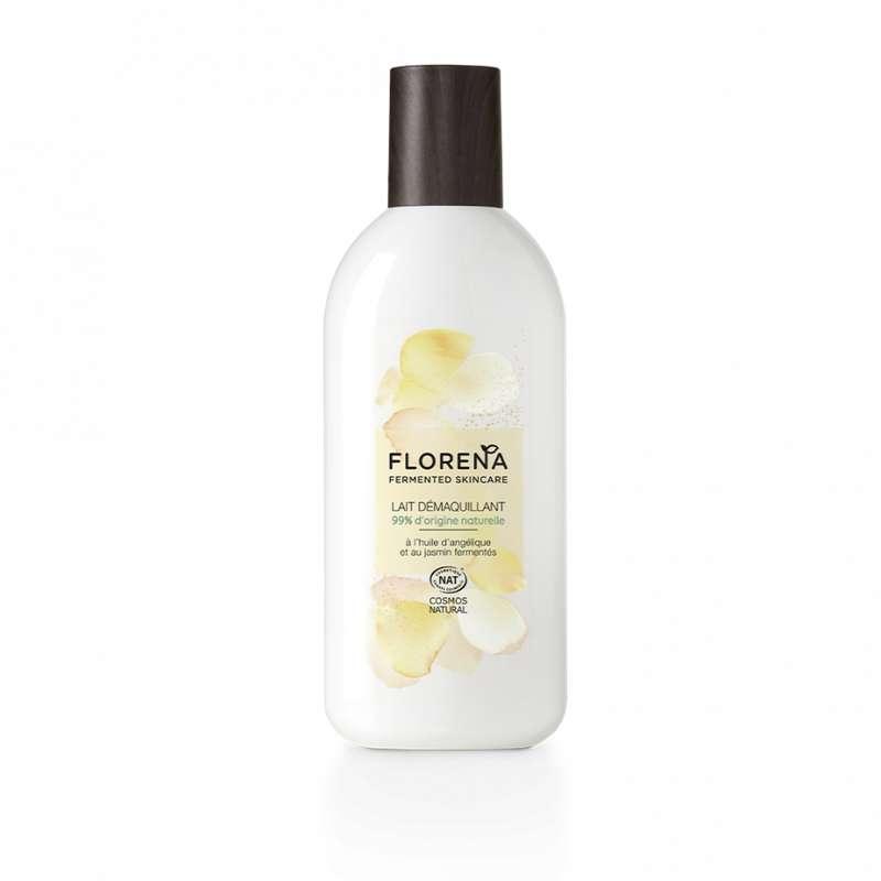 Lait démaquillant à l'huile d'angélique et jasmin fermentés, Florena (200 ml)