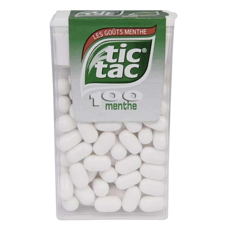 Tic Tac menthe, étui maxi (x100, 49 g)