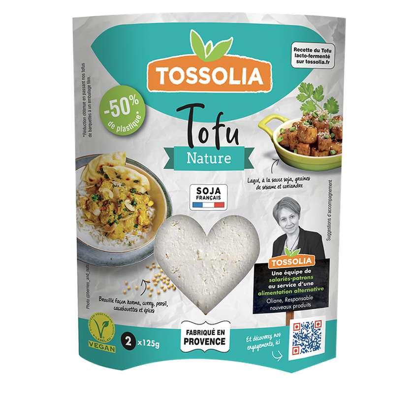 Tofu nature BIO, Tossolia (250 g)