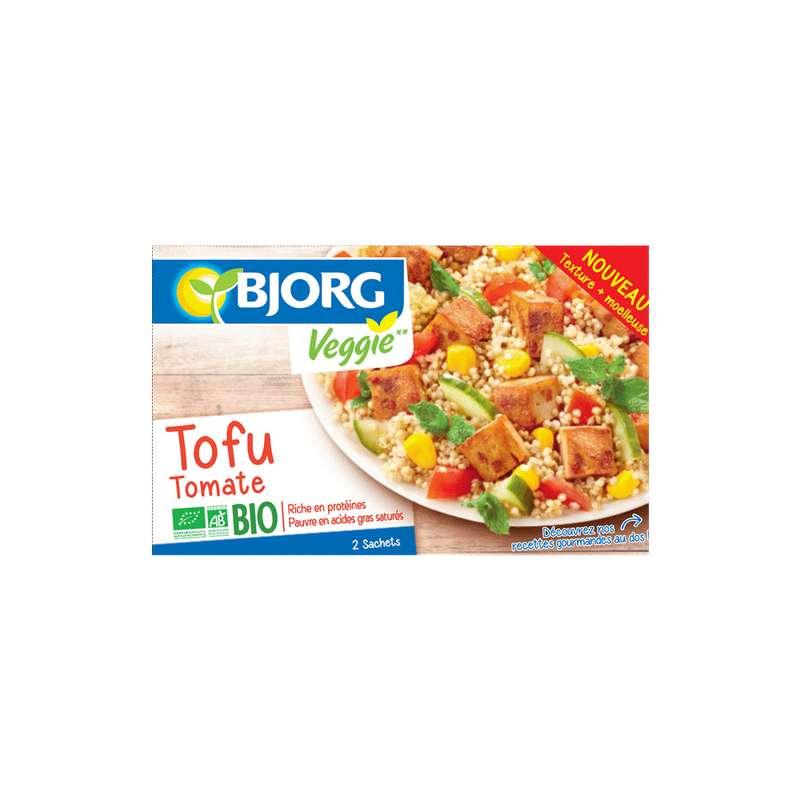 Tofu tomate Veggie BIO, Bjorg (2 x 100 g)
