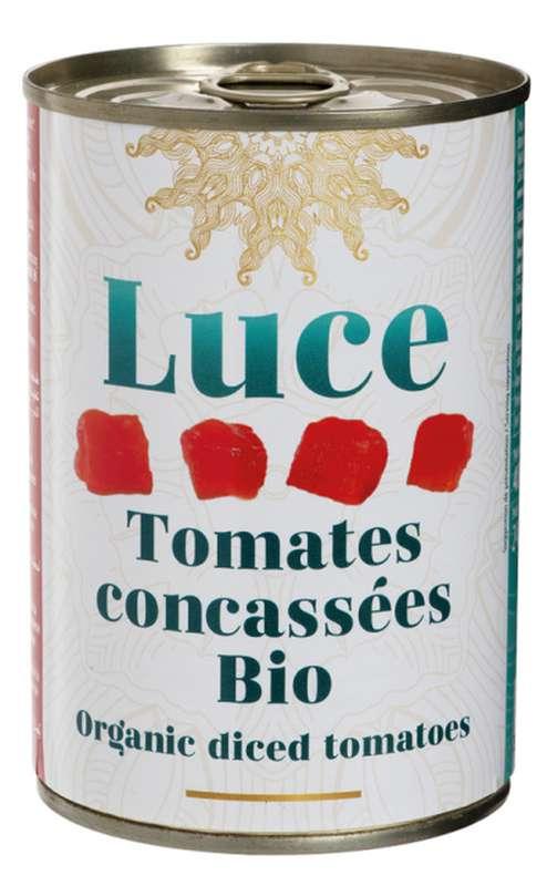 Tomate concassée BIO, Luce (400 g)