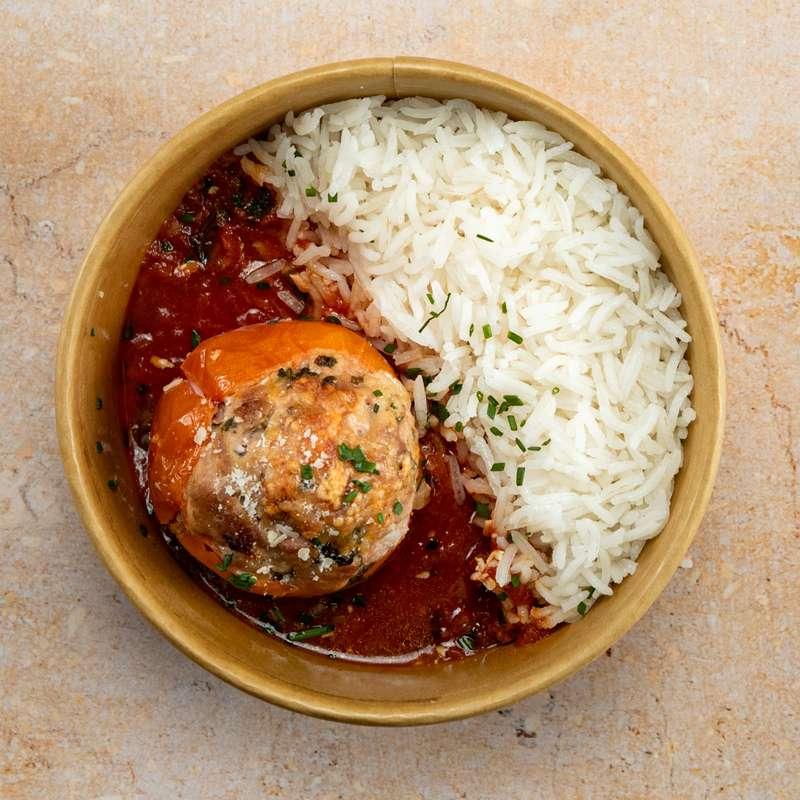 Tomate farcie, riz (300 g)