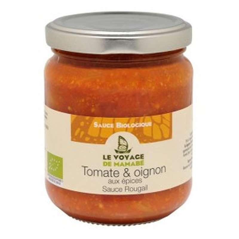 Sauce rougail tomate et oignon BIO, Le voyage de Mamabé (200 g)