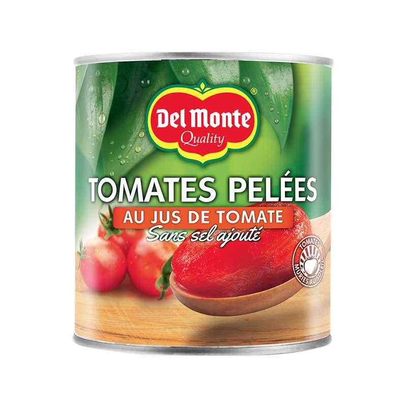Tomates pelées au jus, Del Monte (800 g)