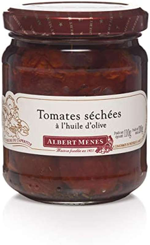 Tomates séchées à l'huile d'olive, Albert Ménès (110 g)