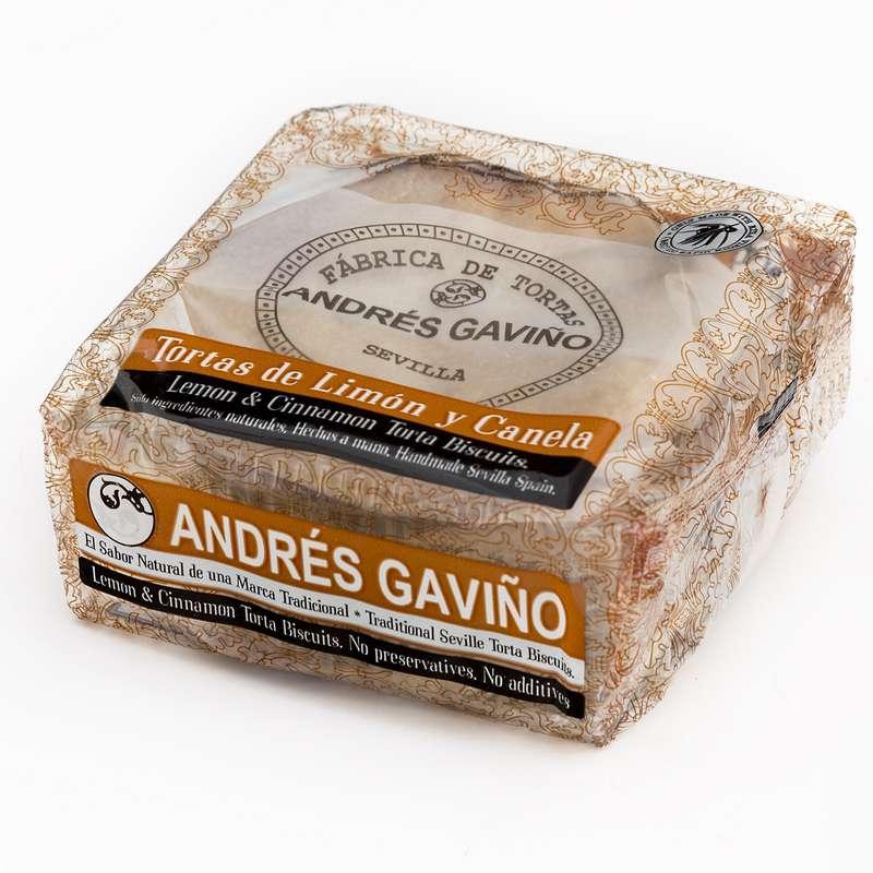 Tortas citron & cannelle, Andrés Gaviño (6 x 35 g)