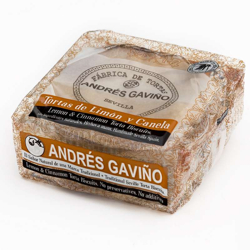 Tortas citron & canelle, Andrés Gaviño (6 x 35 g)