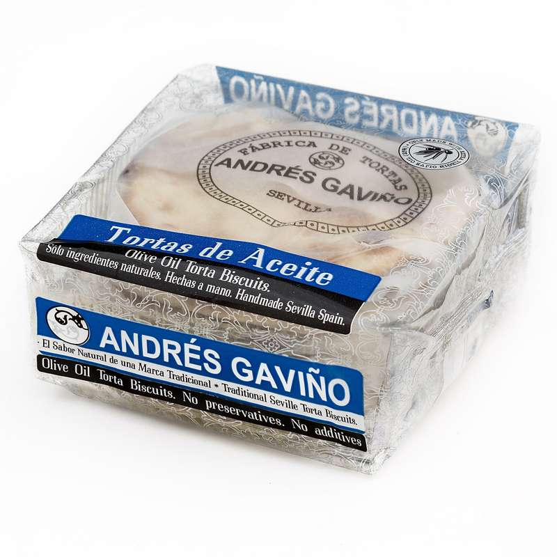 Tortas sucre & anis, Andrés Gaviño (6 x 35 g)