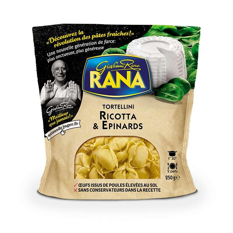 Tortellini ricotta & épinard, Giovanni Rana (250 g)