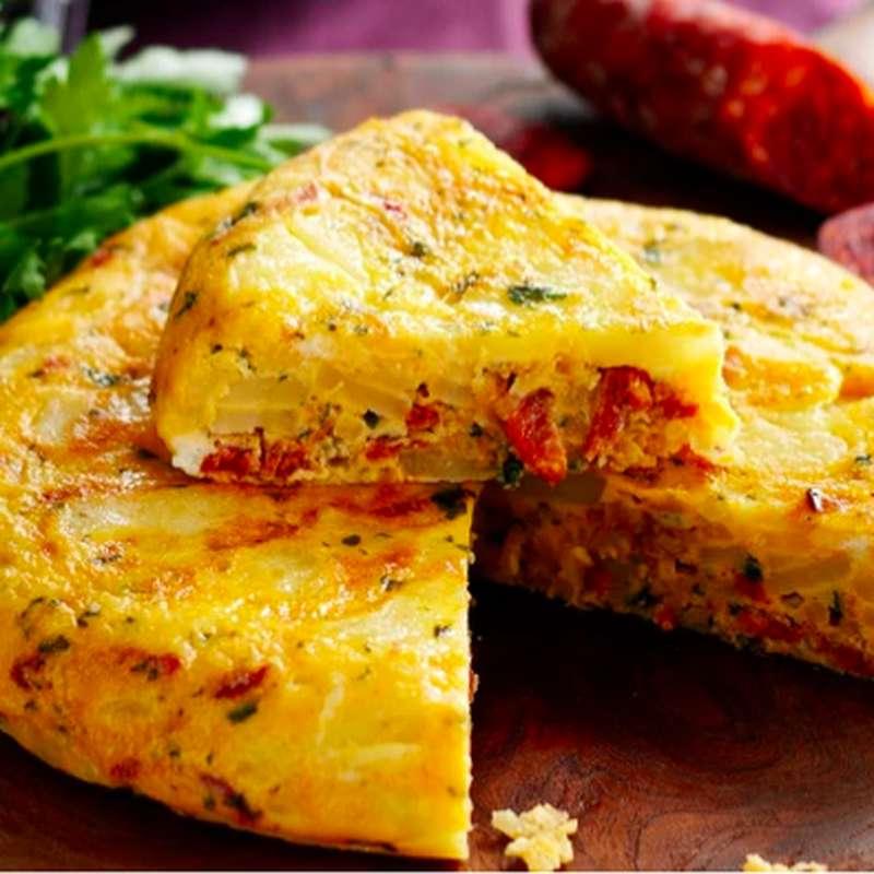 Tortilla de pomme de terre au chorizo (275 g)