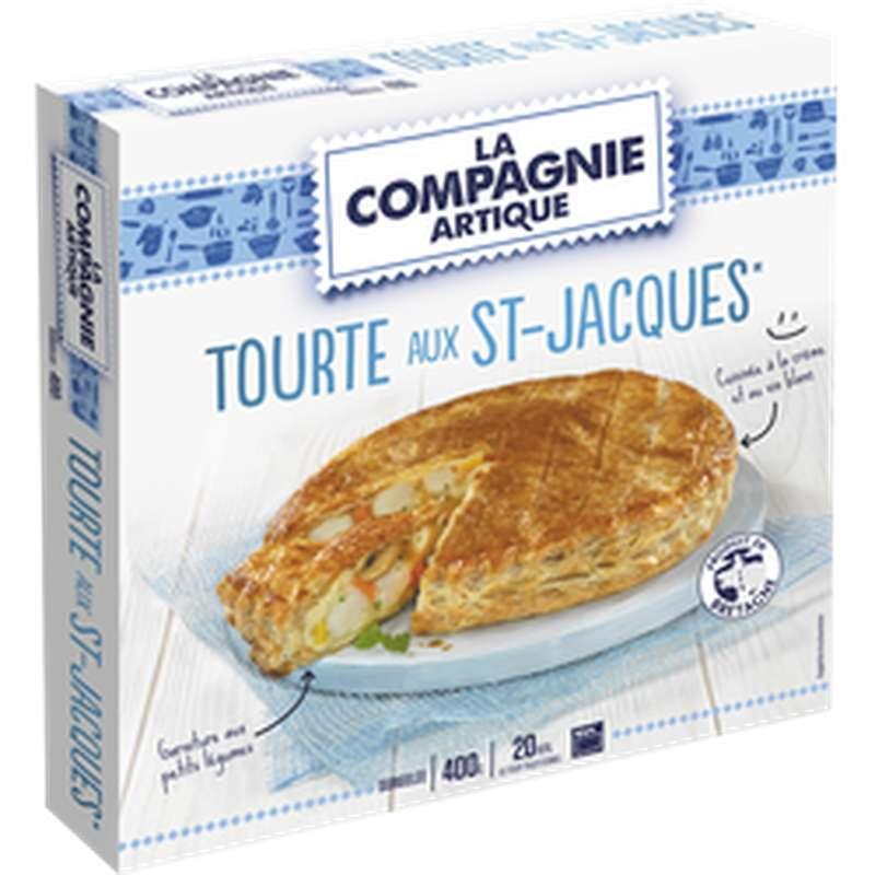 Tourte aux Noix de Saint-Jacques, La Compagnie Artique (400 g)