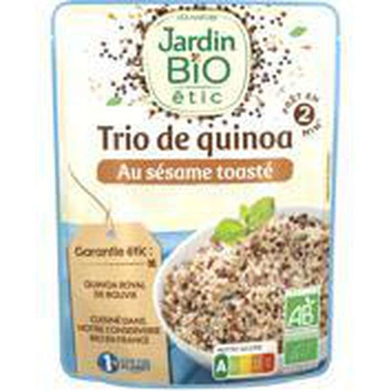 Trio de quinoa au sésame toasté, Jardin Bio étic (220 g)