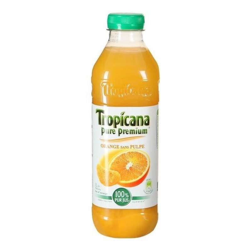 Jus d'orange sans pulpe Pure Premium, Tropicana (1,5 L)