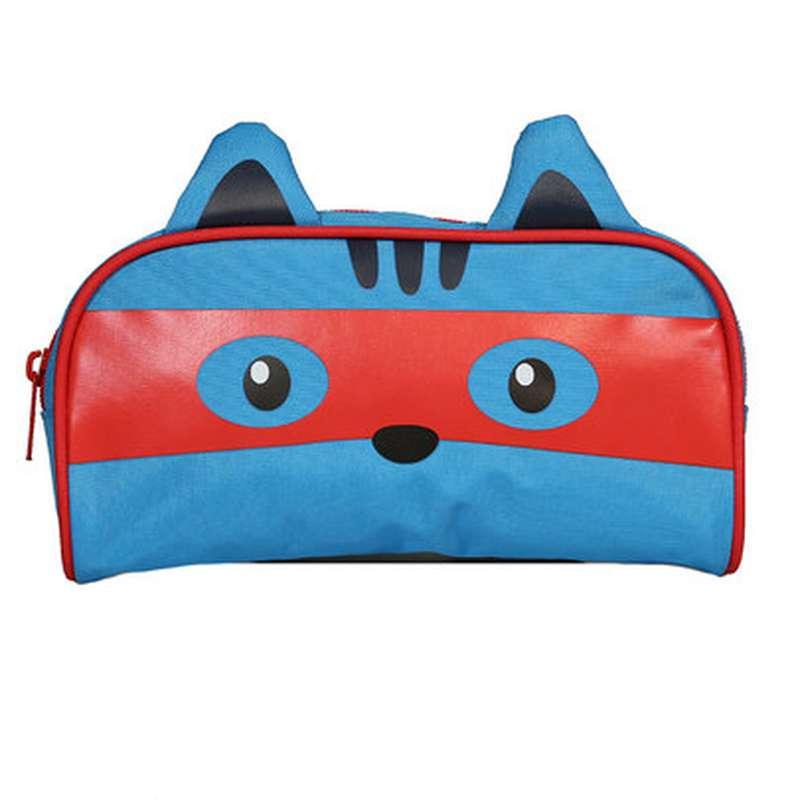 Trousse rectangulaire Kids masque bleu, Kid'z Bag (21 cm)